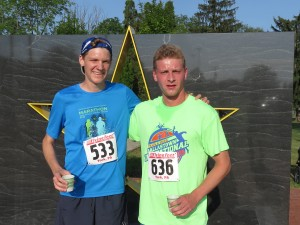 Top two Finishers 2015