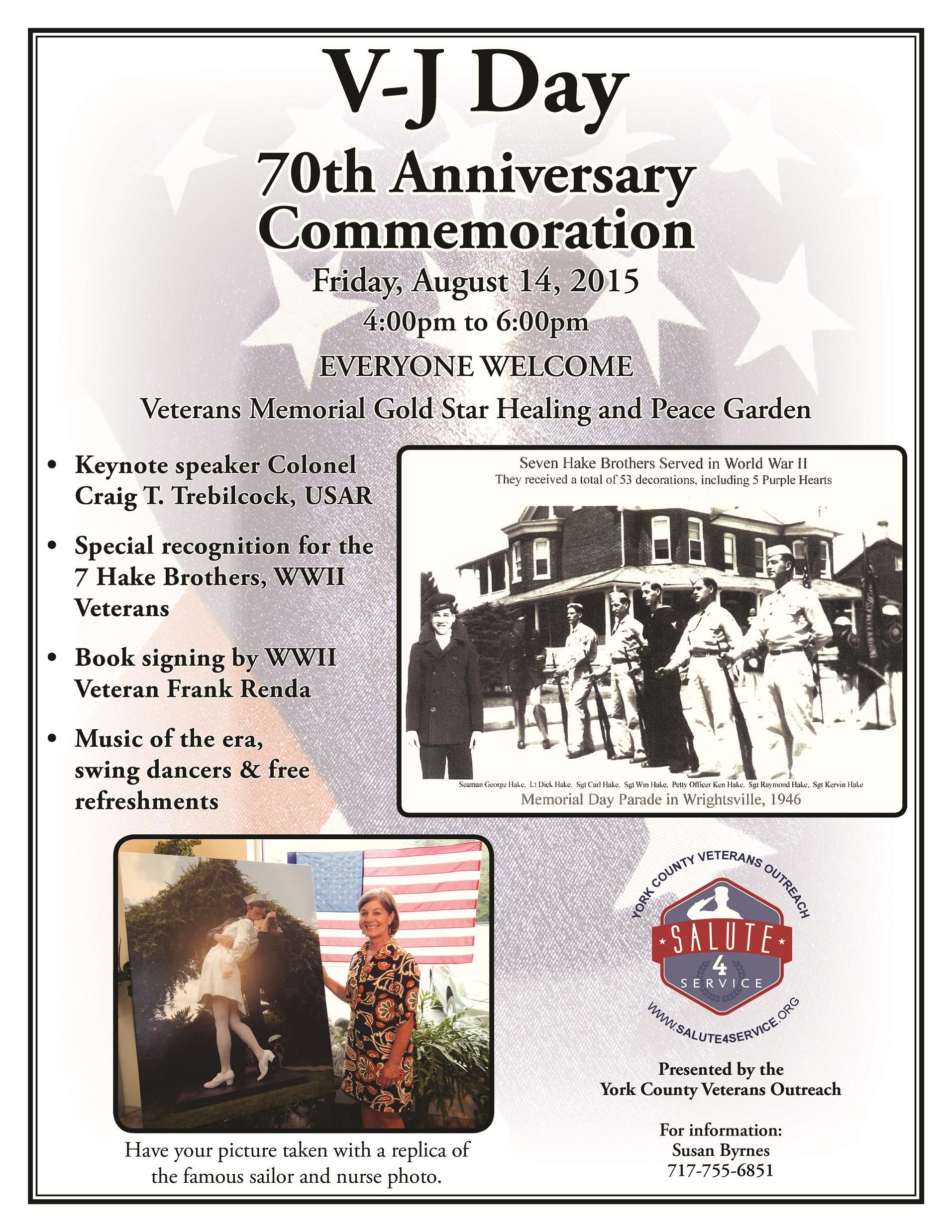 VJ Day 70th Anniversary