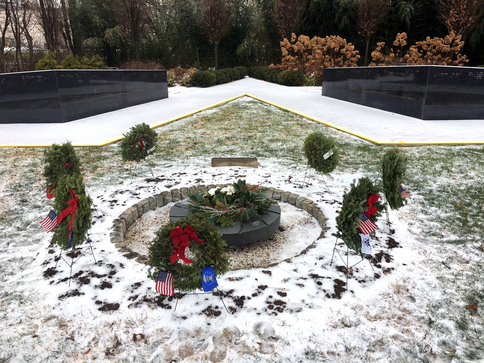 Wreathes Across America Wreath Laying